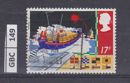 GRAN BRETAGNA   1985Sicurezza In Mare 17 P Usato - 1952-.... (Elisabetta II)