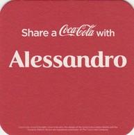 1 Viltje Coca Cola    Alessandro - Tobias - Sous-bocks