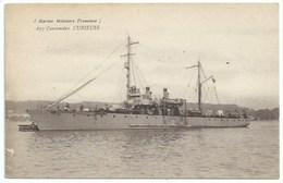 Bateau De Guerre - Canonnière Curieuse - Guerra