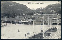 Como -Piazza Cavour - Viaggiata 1917 - Rif. 05018 - Como