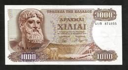 GREECE - NATIONAL BANK - 1000 DRACHMAI (1970) - ZEUS - Grèce