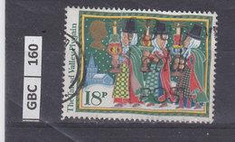 GRAN BRETAGNA   1986Natale 18 P Usato - 1952-.... (Elisabetta II)