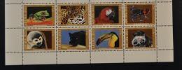 ARUBA ++ 2013 ANIMALS OF THE JUNGLE FROG BIRD PANTHERA MONKEY  MNH ** - Curaçao, Nederlandse Antillen, Aruba