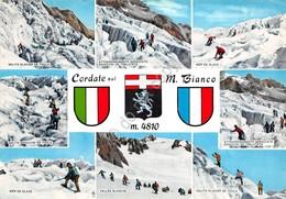 Cartolina Monte Bianco Cordate 8 Vedute - Italia