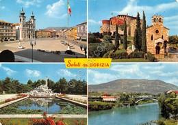 Cartolina Gorizia 4 Vedute 1965 - Gorizia