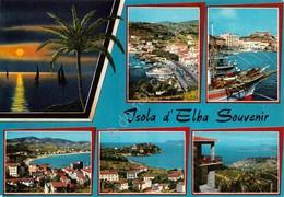 Cartolina Isola D'Elba 6 Vedute 1991 - Livorno