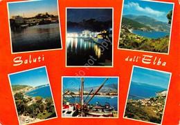 Cartolina Isola D'Elba 6 Vedute - Livorno