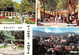 Cartolina Fiuggi Fonte 4 Vedute Minigolf 1966 - Frosinone
