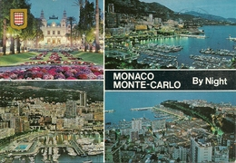Principaute De Monaco, Montecarlo, Vues La Nuit, Views At Night, Vedute Notturne - Monaco