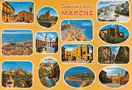 Cartolina Marche 13 Vedute Varie Località 1984 - Ancona
