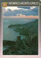 Principaute De Monaco, Montecarlo, Vue La Nuit, View At Night, Scorcio Panoramico Notturno - Monaco