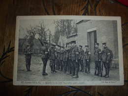 Inspection Des Troupes Anglaises - Guerra 1914-18