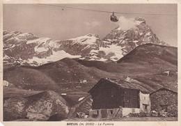 CARTOLINA - POSTCARD - AOSTA - BREUIL M. 2050 - LA FUNIVIA - Aosta
