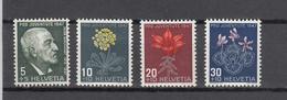 1947  PJ   N° 121 à 124  NEUFS**  COTE 5.50 FRS.  VENDU à 15%    CATALOGUE ZUMSTEIN - Pro Juventute