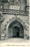 CPA - BLOIS - CATHEDRALE SAINT-LOUIS - LE PORCHE - Blois