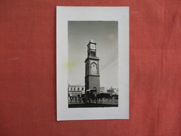 RPPC   Morocco > Casablanca     L'Horloge De La Place De France   Ref 3104 - Casablanca
