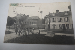 CHEPY   MAIRIE  ET  ECOLES   ANIMATION - France