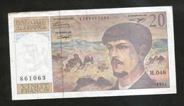 FRANCE - BANQUE De FRANCE - 20 Francs DEBUSSY (1995) - 1962-1997 ''Francs''