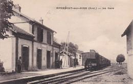 APREMONT -- Train -- La Gare - France