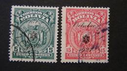 Bolivia - 1928 - Mi:BO 166,168 - Yt:BO 142,144 O - Look Scan - Bolivia