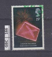 GRAN BRETAGNA   1989Anniv. Elezione Parlamento Europeo 19 P Usato - 1952-.... (Elisabetta II)