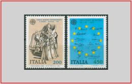 Italia Italy 1982 - Cat. 1601/02 (MNH **) Europa CEPT - Europe (001557) - 6. 1946-.. Repubblica