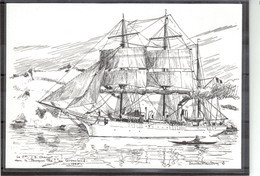 """E44 - Le """" POURQUOI PAS ? """" De Jean-Baptiste CHARCOT Au GROENLAND.(Marine D' Etienne BLANDIN) - Groenland"""
