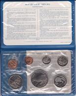 CARTERA OFICIAL DE NUEVA ZELANDA CON 7 MONEDAS DEL AÑO 1982 SIN CIRCULAR (COIN) - Nueva Zelanda