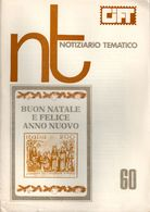 CIFT - NOTIZIARIO TEMATICO N. 60 NOVEMBRE / DICEMBRE 1981 - PAGINE 74 - USATO / USED - Riviste