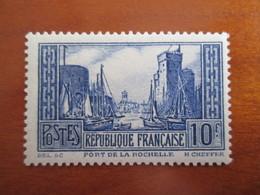 261 Port De La Rochelle  . Sans Charnieres - Nuovi