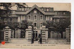 01053-LE-75-PARIS-Asile Suisse Des Vieillards,25,avenue Saint-Mandé-----------animée - Autres