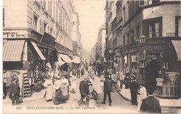 FR62 BOULOGNE SUR MER - LL 195 - La Rue Faidherbe - Animée - Belle - Boulogne Sur Mer