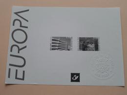 EUROPA Feuillet Wit / Zwart - Blanc / Noir Vel : De Post / La Poste ( Zie / Voir Photo ) MVTM (15a) 2004 ! - Europa-CEPT