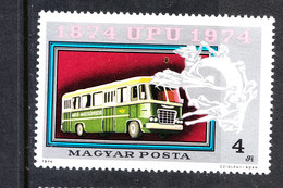 Ungheria  Hungary - 1974. Bus. MNH - Bus
