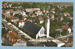 F0181  CP  MONTGERON  (Seine Et Oise)  EN AVION AU-DESSUS DE ...  La Chapelle Saint-Joseph   +++++++ - Montgeron