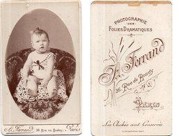 Photo (CDV)  Bébé - Photo A. Ferrand  Paris  (110706) - Photos