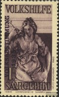 Saar 201 With Hinge 1934 Volkshilfe - Ungebraucht