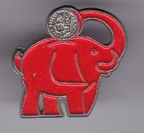 PIN DE UN ELEFANTE  (ELEPHANT) BANCO SANTANDER - Animales