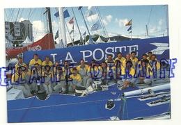 """L'équipage Du Maxi-Yacht """"La Poste"""". Photo: Th. Martinez. 1933. La Poste. Direction De La Communication - Voiliers"""