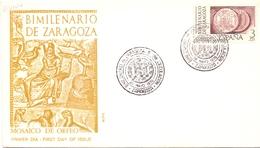 ESPANA BIMILENARIO DE ZARAGOZA 1976 FDC COVER  (DICE180113) - FDC