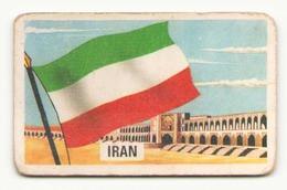 IMAGE CHEWING GUM JOHNNY COW BOY MANAR GUM ALGERIE  SERIE 67 - 9 IRAN DANS L ETAT - Vieux Papiers