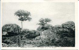 CPA -  PLOERMEL - ROCHERS DE LA VILLE BOUQUET - Ploërmel