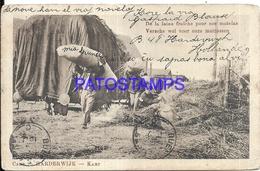105306 NETHERLANDS HARDERWIJK HOLLAND COSTUMES CAMP MAN'S WORK  POSTAL POSTCARD - Pays-Bas