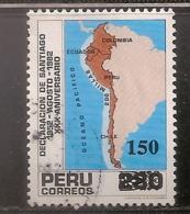 PEROU OBLITERE - Peru
