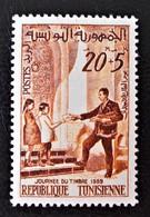 JOURNEE DU TIMBRE 1959 - NEUF * - YT 498 - MI 545 - Tunisie (1956-...)