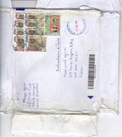 Sénégal Lettre Recommandée 2018 9 Timbres - Sénégal (1960-...)