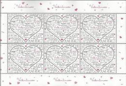 HR 2015-1161 LOVE, HRVATSKA CROATIA, MS, MNH - Croatie