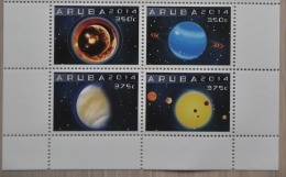 ARUBA ++ 2014 ASTRONOMIE ASTRONOMY  MNH ** - Curacao, Netherlands Antilles, Aruba