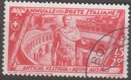 Italia 1932 Marcia Su Roma 5L+2,50c Sa 340 (o) - Usados
