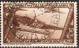 Italia 1932 Marcia Su Roma 50c PA Sa A42 (o) - Oblitérés